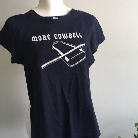 Tops - More Cowbell Tee